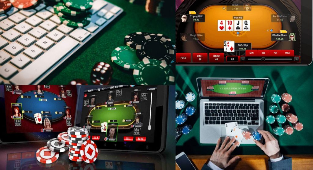 playing real money online poker