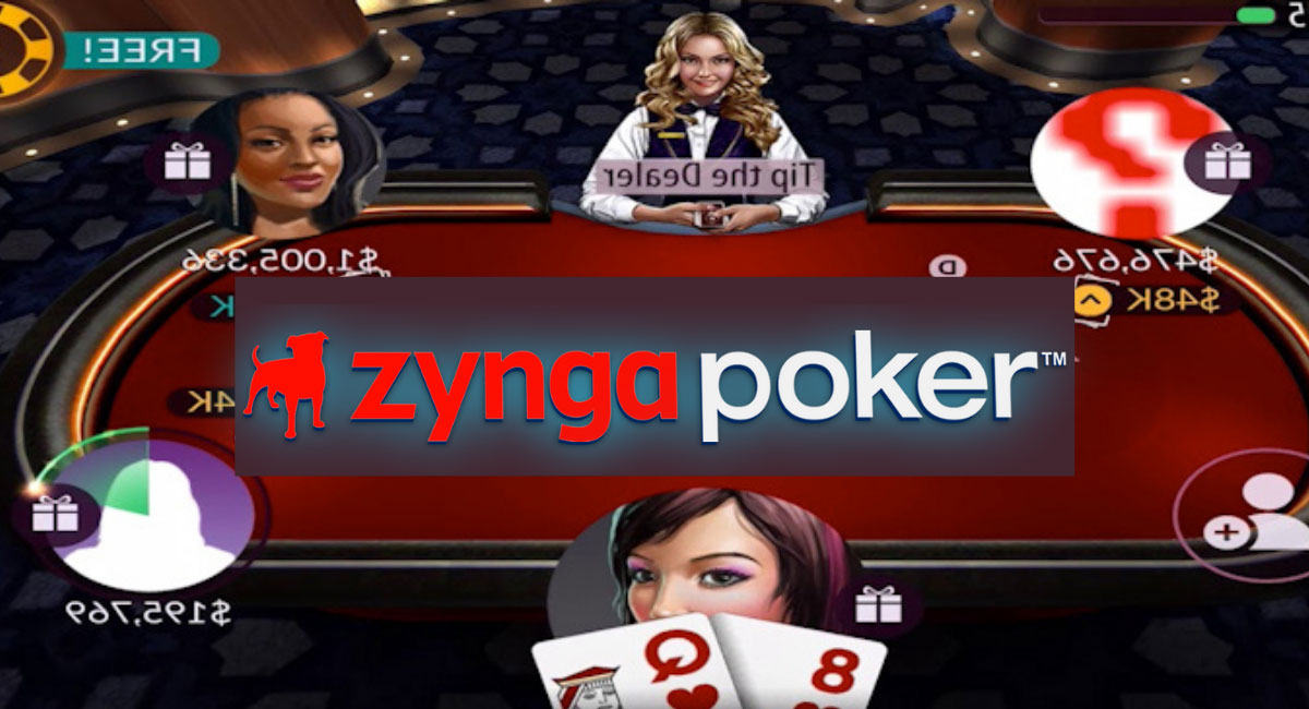 Playing Zynga Poker online using your smartphone